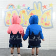 L-KITTY - Reflective Cat Jacket - Blue - Kids