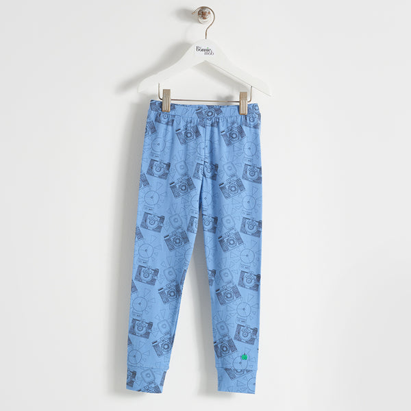 DUSTY - Kids - LEGGING - BLUE