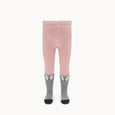 FANTASTIC - Baby - Fox Face Tights - Pink