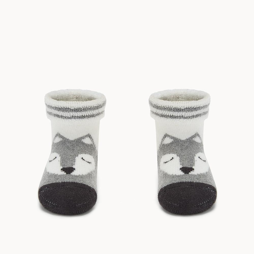 FOXY - Baby - Fox Face Bootie Socks