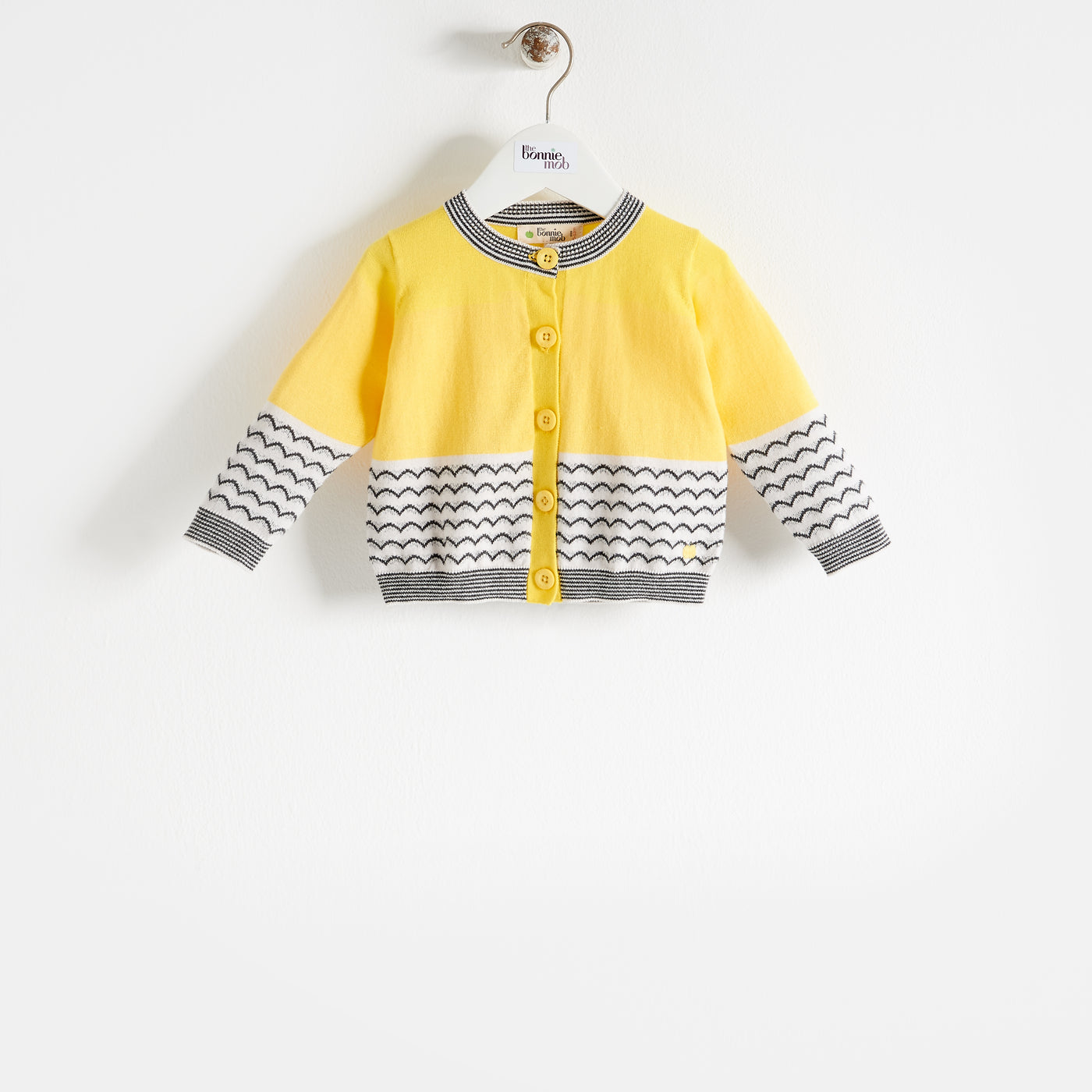 GILL - Kids - Cardigan - Yellow