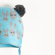 JINX - Bunny Jaquard Hat - Kids Boy - Pale blue