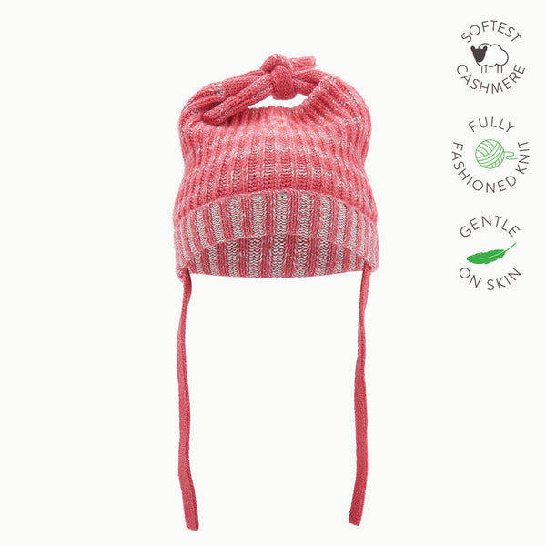 JOHN - Baby Chunky Knitted Hat - MELON