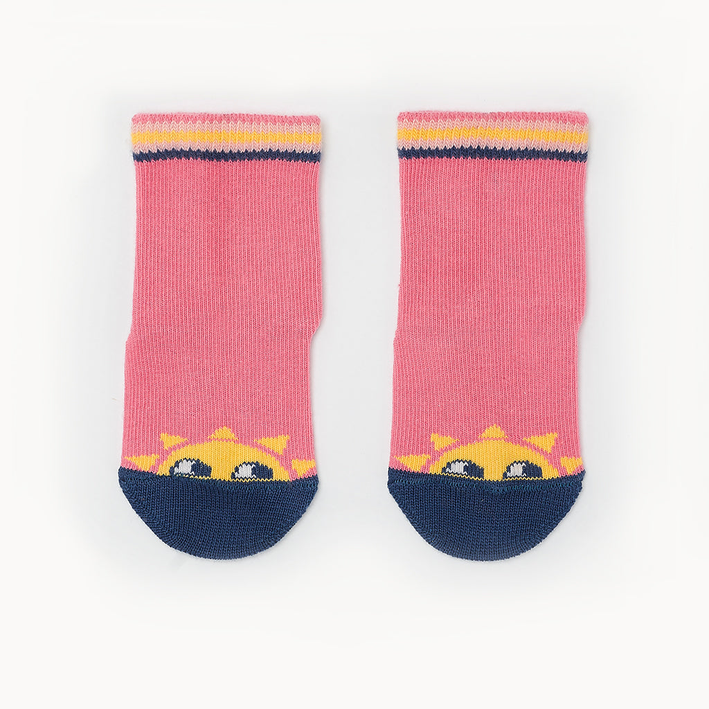 KELLY - Sunshine Baby Ankle Socks - Sorbet