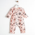 KOOL - Printed Cat Playsuit - Baby Girl - Pink cat print