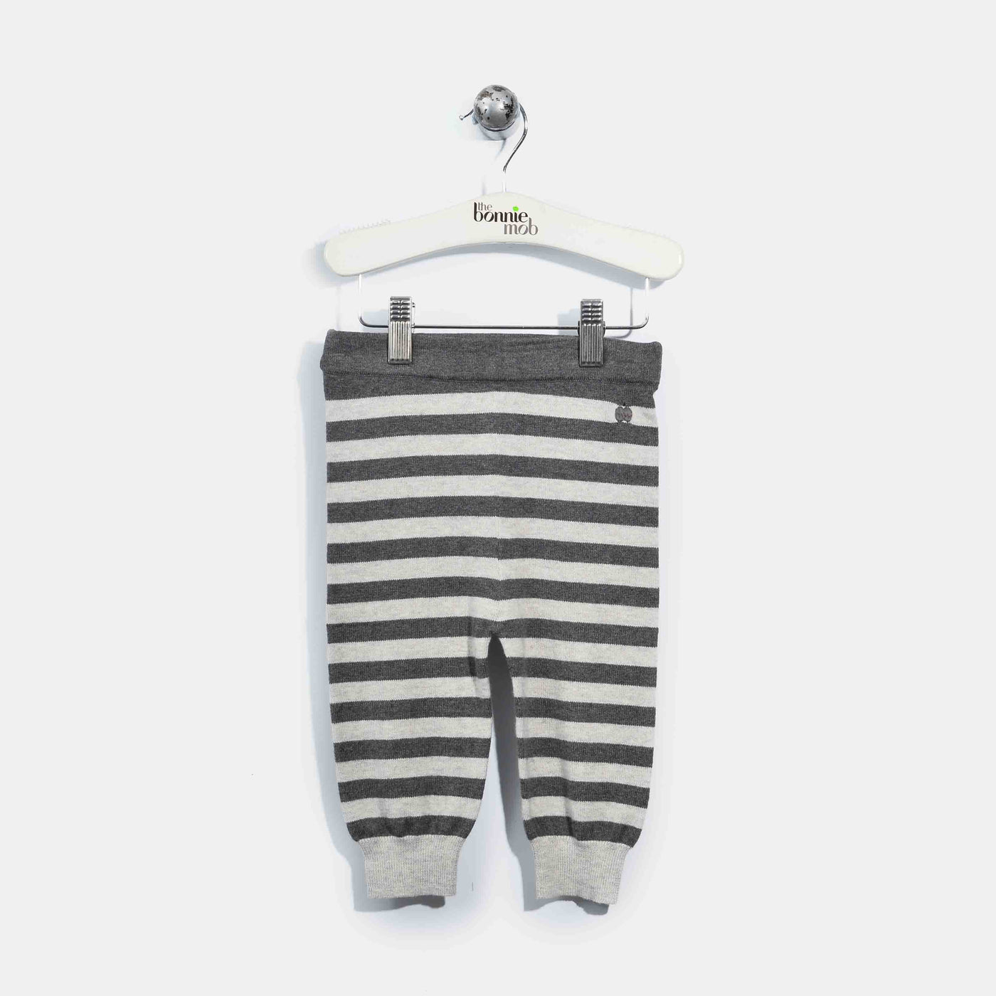 L-ACE-Stripe Mix And Match Trouser-Kids-Grey/Charcoal