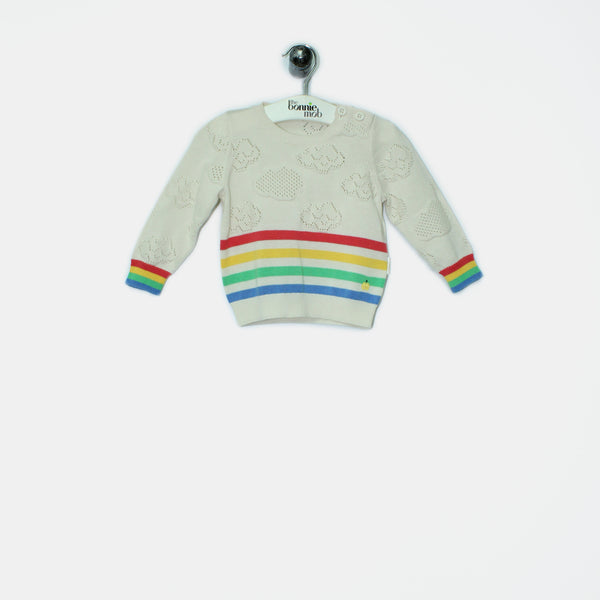 L-CLAUDE - Baby - Sweater - IVORY