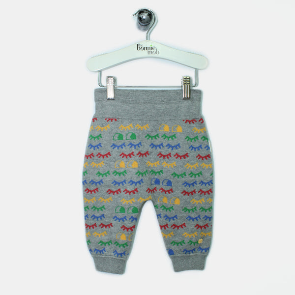 L-EDWIN-Rainbow Eyelash Trouser-Baby-Grey