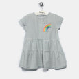 L-HETTI-Denim Stripe Dress-Kids Girl-Light Denim