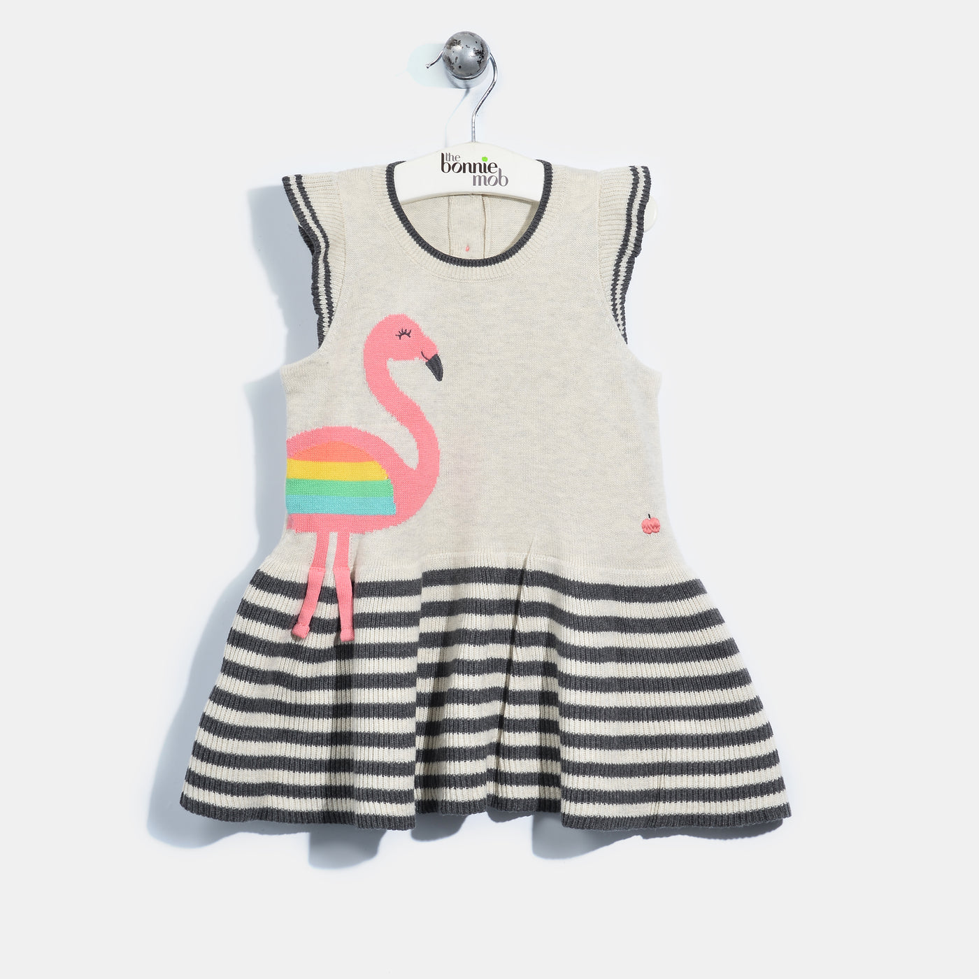L-IVY-Flamingo Dress-Baby Girl-Blush