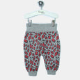 L-LESLEY-Leopard Print Trouser-Kids Girl-Red