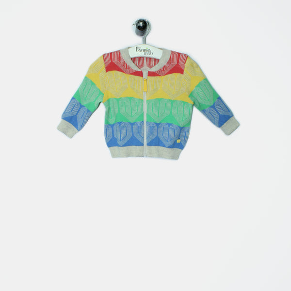 L-LOLLY - Baby - Jacket - RERVERSE RAINBOW