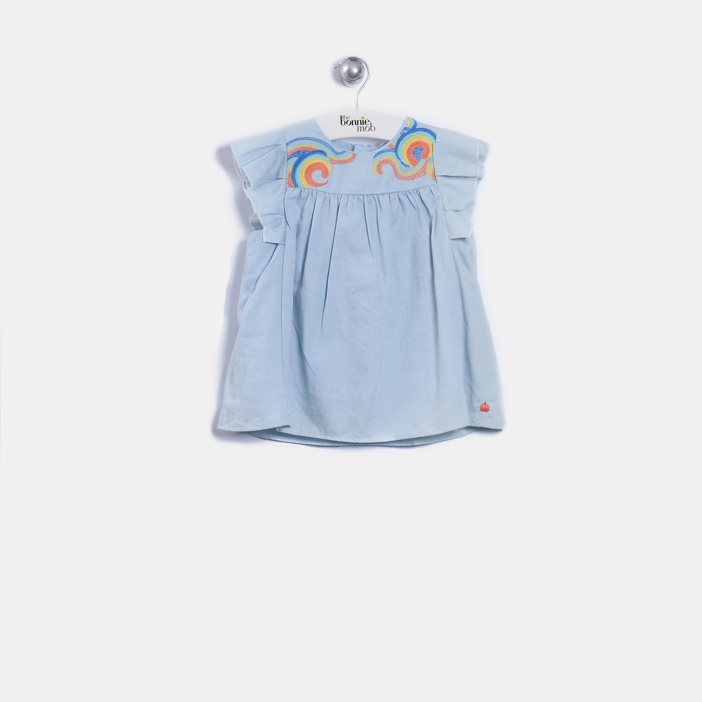 L-MAYA - Baby - Top - VINTAGE DENIM