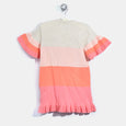 L-NEVE-Colourblock Dress-Baby Girl-Blush