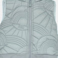 L-NORMAN-Dove Embroidered Gilet-Kids-Grey