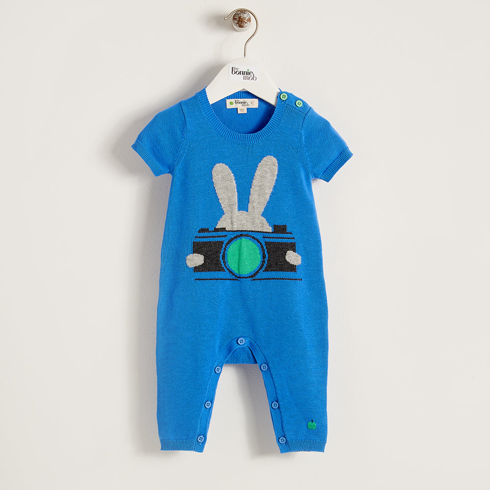 LENNON - Baby - Playsuit - BLUE