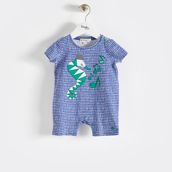 LIMPET - Baby - Playsuit - NAVY