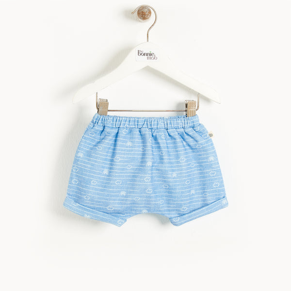 MALDIVES - Baby Bloomer Shorts DENIM CLOUD