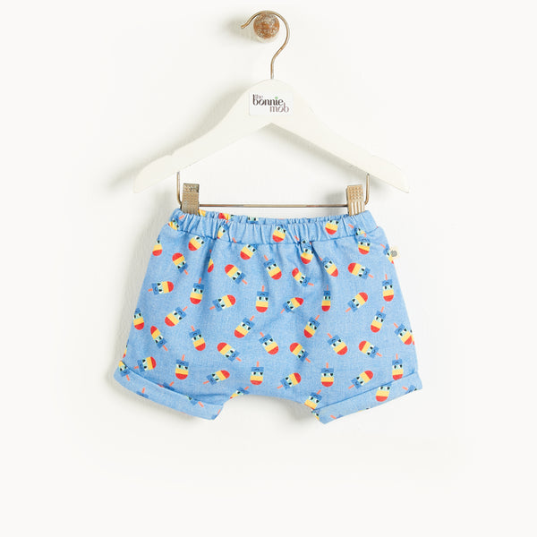 MALDIVES - Baby Bloomer Shorts DENIM LOLLY