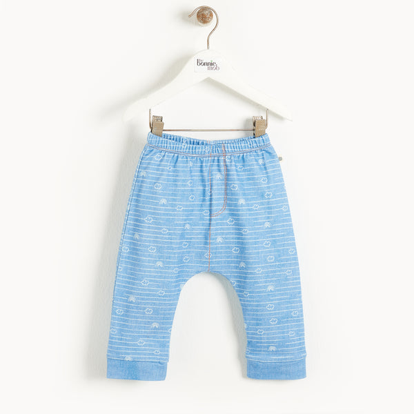 MALTA - Baby Comfy Jogger DENIM CLOUD