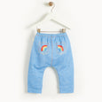 MALTA - Baby Comfy Jogger DENIM RAINBOWS