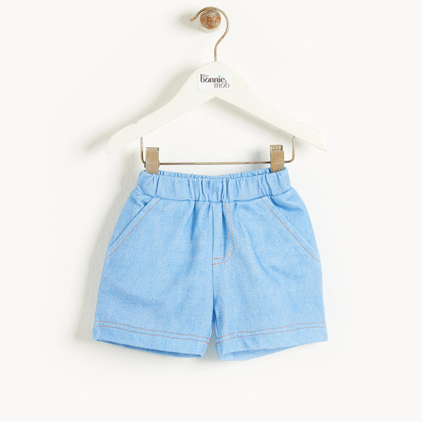 MIAMI - Baby Comfy Shorts DENIM