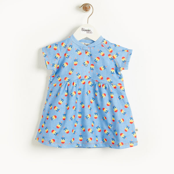 MYKANOS - Kids Dress  DENIM LOLLY