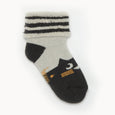 NELLY - Cat Baby Bootie Socks - Baby Unisex - Monochrome