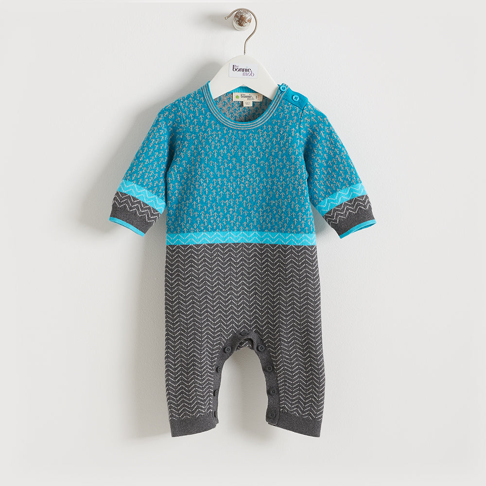 ORION - Baby - Playsuit - BLUE