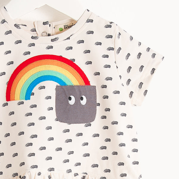 PAIGE - Kids - Dress - RAINBOW POCKET