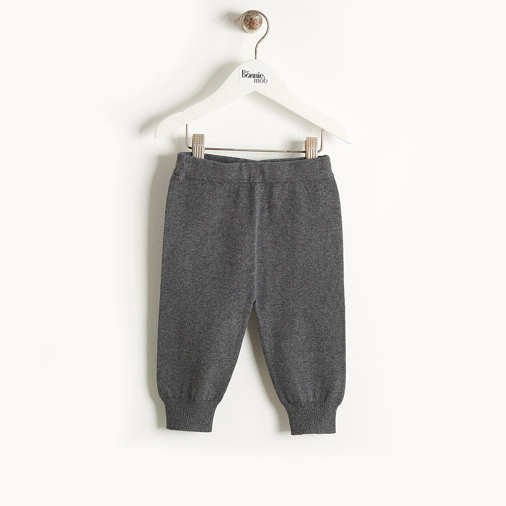 PHILLY - Knit Jogging Trousers - Baby Unisex - Dark grey