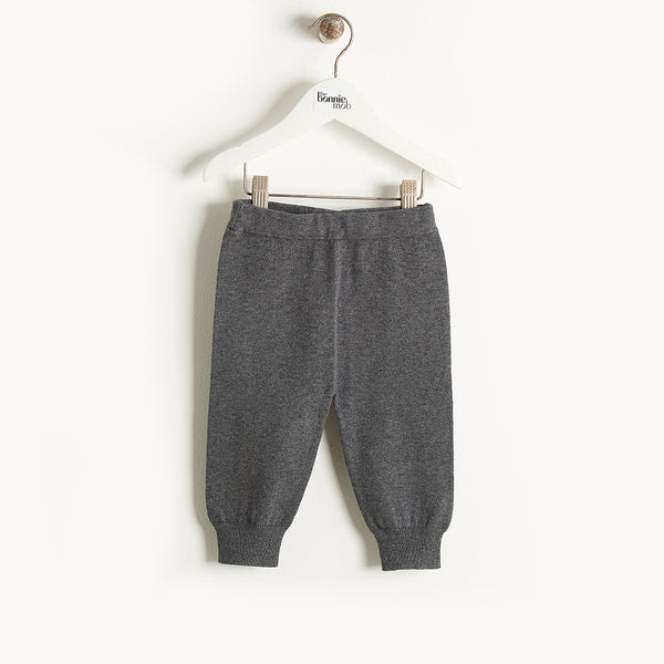 PHILLY - Knit Jogging Trousers - Kids Unisex - Dark grey
