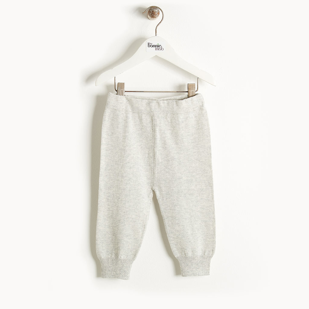 PHILLY - Knit Jogging Trousers - Baby Unisex - Pale grey