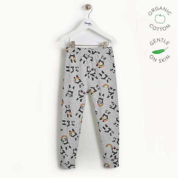 PROMISE - Kids Panda Legging - GREY
