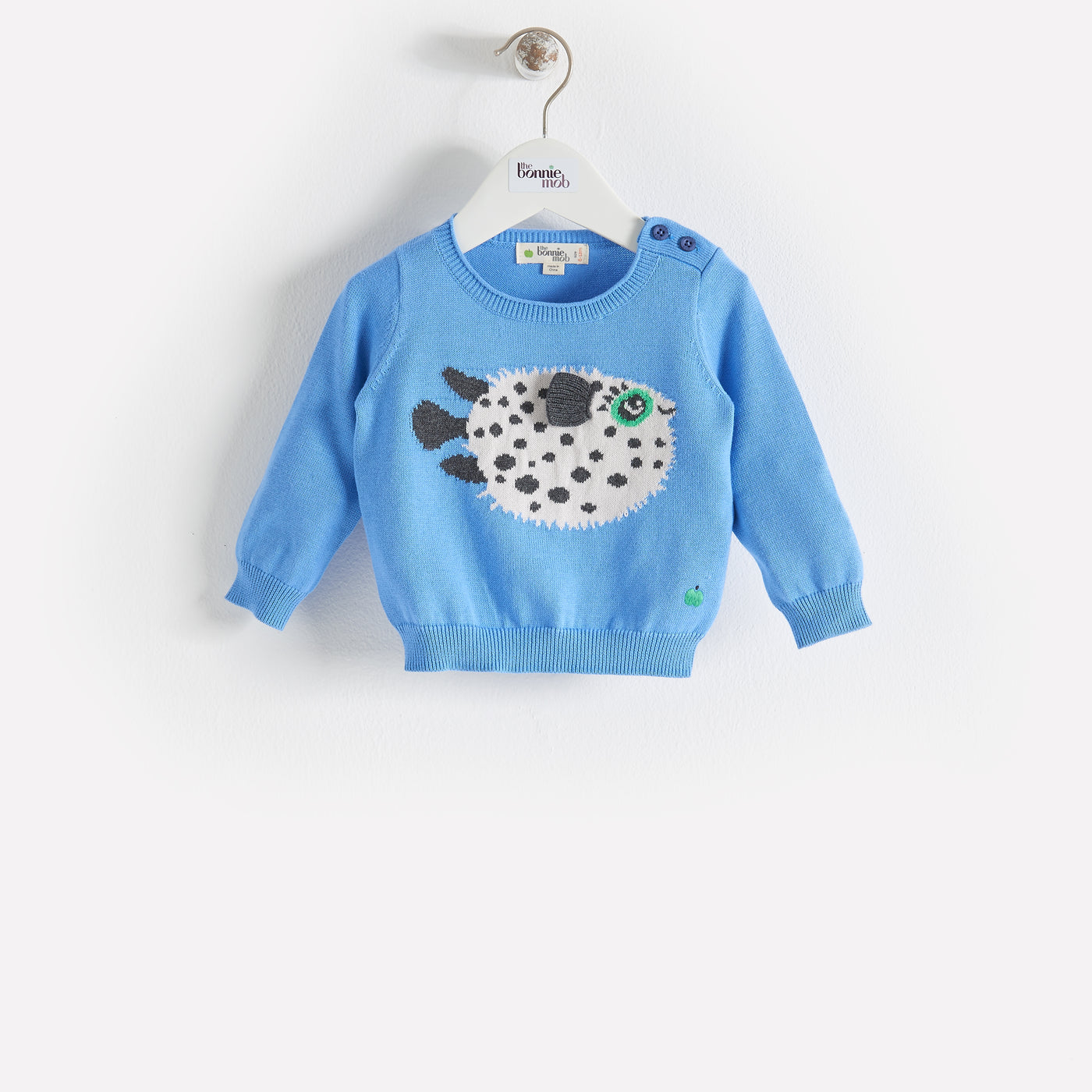 PUFFY - Baby - Sweater - BLUE