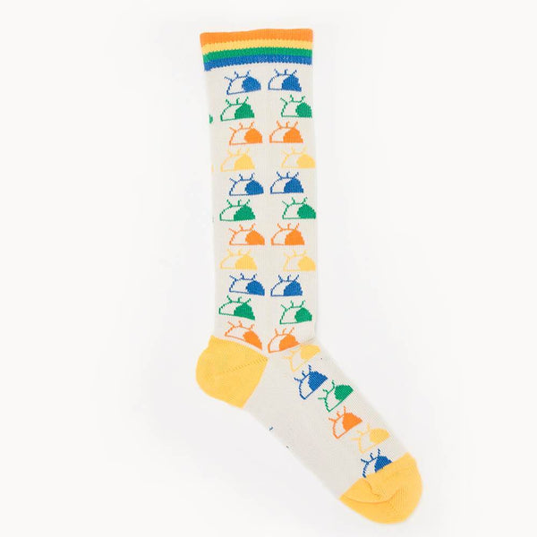 RENOIR - I See You' Knee High Baby Socks - Rainbow