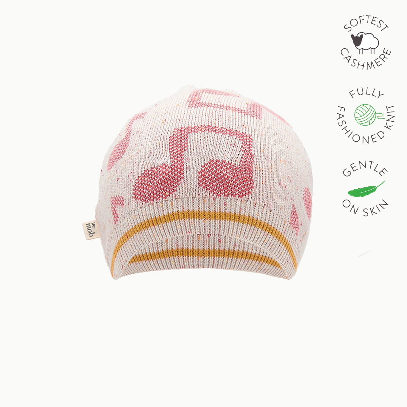 RIGBY - Baby Music Jaquard Hat - PINK