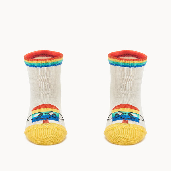 RIMINI - Baby Lolly Short Socks PUTTY