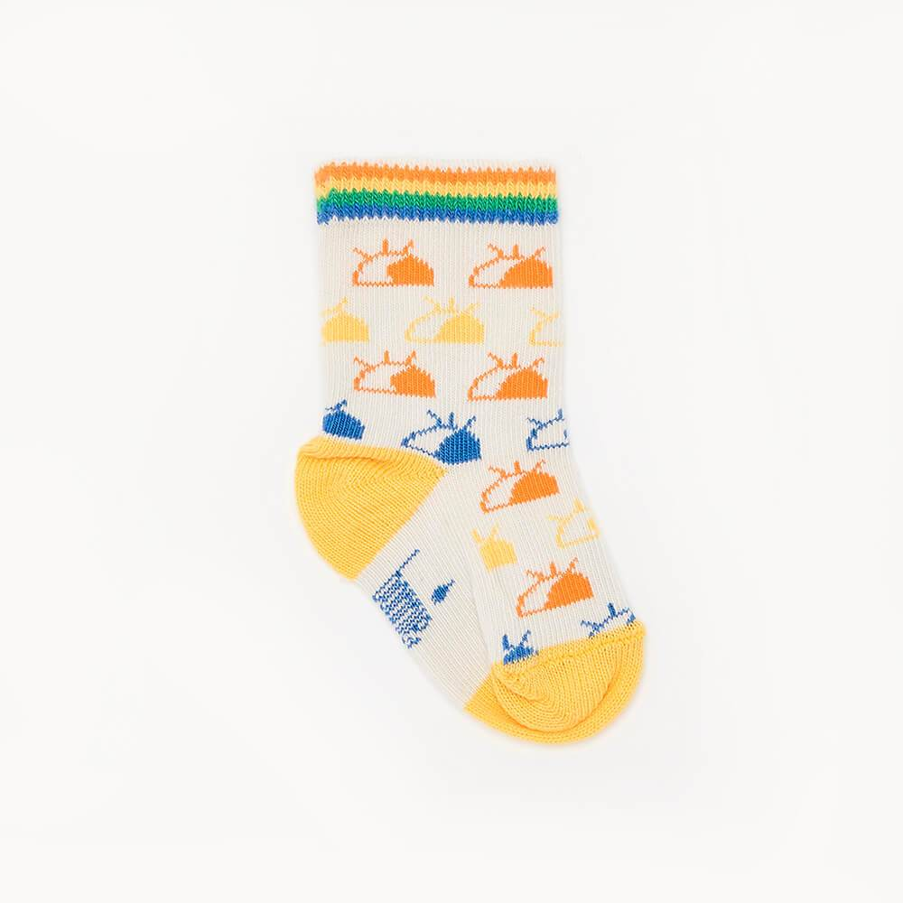 RODIN - 'I See You' Baby Ankle Socks - Rainbow