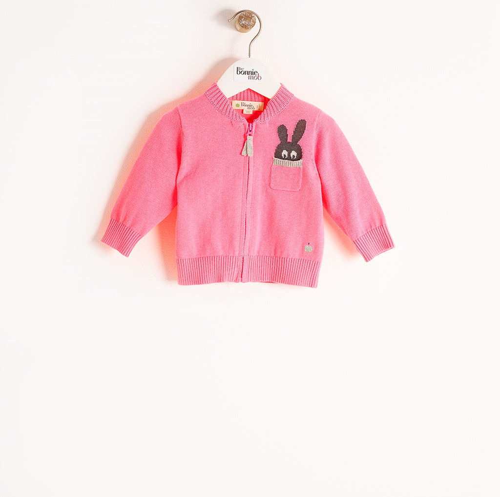 ROLLER - Baby - Cardigan - BRIGHT PINKS