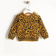 SOLO - Leopard Spot Sweater - Baby Unisex - Honey