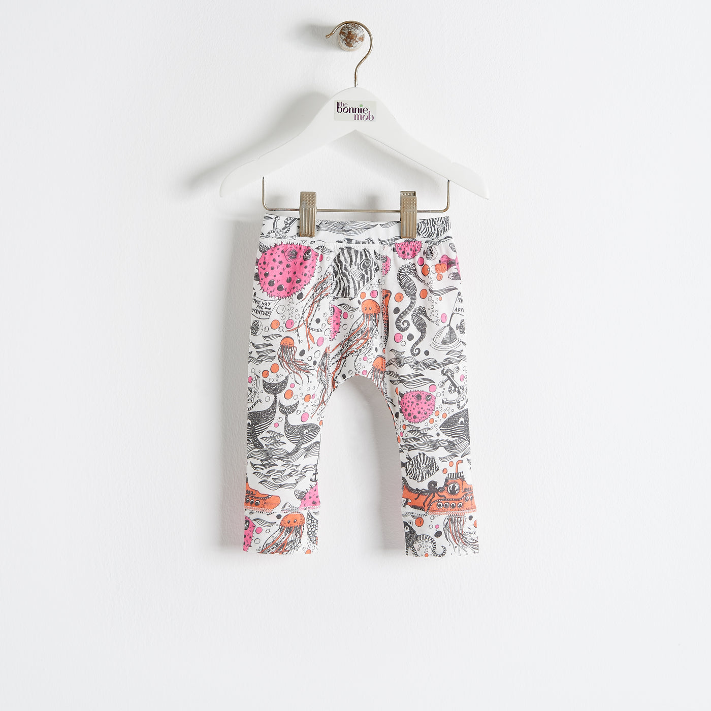 SAILOR - Kids - Legging - PINK/ORANGE