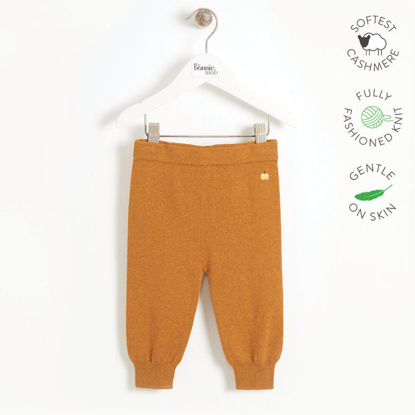 YESTERDAY - Baby Knitted Jogging Trouser - GINGER