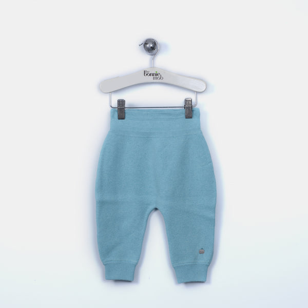 L-DEEDEE - Bunny Tail Padded Trousers - Baby Boy - Surf