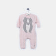 L-DORIS - Bunny Body Playsuit - Baby Girl - Pink calico