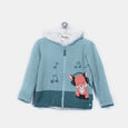 L-FERN - Funky Fox Jacket - Kids Boy - Cloudy jade