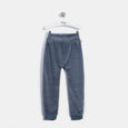 L-LEON - Leopard Ear Trousers - Baby Boy - Slate blue