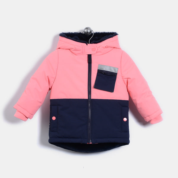 L-KITTY - Reflective Cat Jacket - Pink - Baby