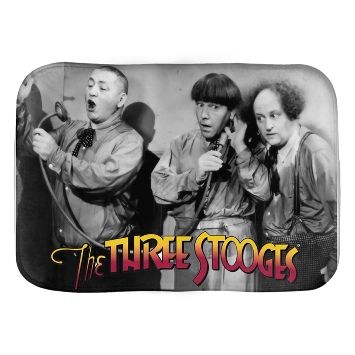 Three Stooges Bath Mat