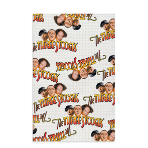 Three Stooges Logo Dish Towel - FREE SHIPPING